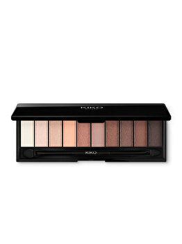 Paleta pentru fardurile de pleoape Smart Eyeshadow Palette, 02 Warm Tones, 7 g de la Kiko Milano