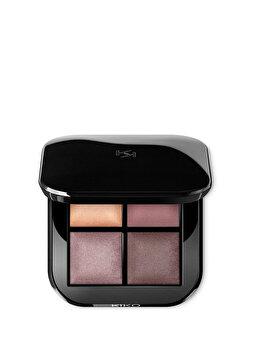 Fard de pleoape Bright Quartet Baked Eyeshadow Palette, 02 Rosy Mauve Variations, 3.2 g de la Kiko Milano