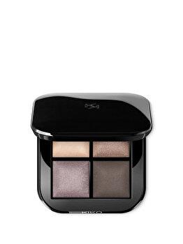 Fard de pleoape Bright Quartet Baked Eyeshadow Palette, 03 Cool Natural Shades, 3.2 g de la Kiko Milano
