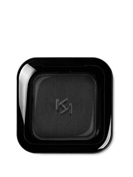 Fard de pleoape High Pigment Wet And Dry Eyeshadow, 15 Matte Black, 2 g de la Kiko Milano