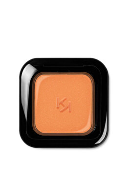 Fard de pleoape High Pigment Wet And Dry Eyeshadow, 20 Pearly Tangerine, 2 g de la Kiko Milano