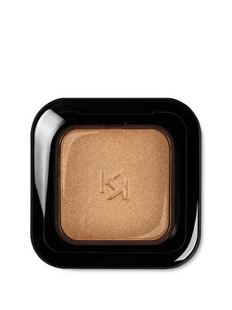Fard de pleoape High Pigment Wet And Dry Eyeshadow, 91 Metallic Deep Gold, 2 g de la Kiko Milano