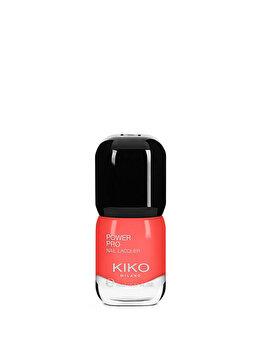 Lac de unghii Power Pro Nail Lacquer, 10 Hibiscus Red, 11 ml de la Kiko Milano