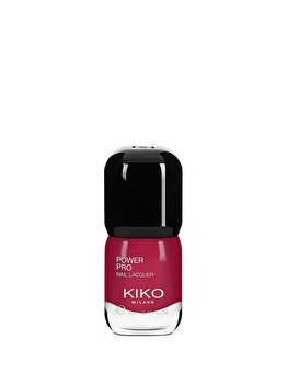 Lac de unghii Power Pro Nail Lacquer, 46 Ribes Red, 11 ml de la Kiko Milano