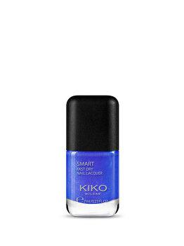 Lac de unghii Smart Nail Lacquer, 28 Iridescent Violet Blue, 7 ml de la Kiko Milano