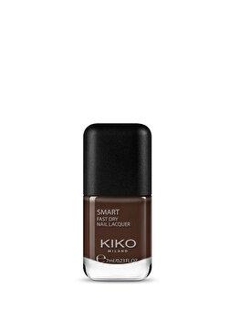 Lac de unghii Smart Nail Lacquer, 41 Dark Chocolate, 7 ml de la Kiko Milano