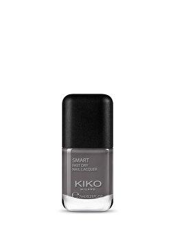 Lac de unghii Smart Nail Lacquer, 44 Dark Grey, 7 ml de la Kiko Milano