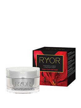 Crema de noapte cu ulei de Argan si extract de aur, 50ml de la RYOR