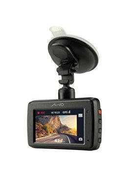 Camera auto DVR Mio MiVue731, Full HD, ecran 2.7′, GPS integrat, unghi 130 de grade, sistem de avertizare LDWS, Negru de la Mio