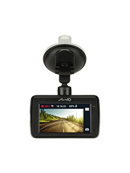 Camera auto DVR MIO MIVUE 733, 2.7′, Full HD, Wi-Fi, GPS, G-senzor, Negru de la Mio