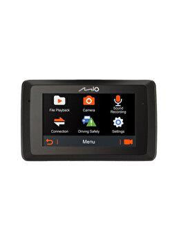 """Camera auto Mio MiVue 785 GPS, ecran tactil de 2,7"""", Full HD, G-Shock Sensor, Senzor Sony, Negru de la Mio"""