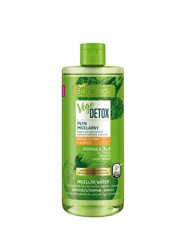 Apa micelara hidratanta fata pentru piele uscata cu Broccoli + dovleac + prebiotic Vege Detox, 5