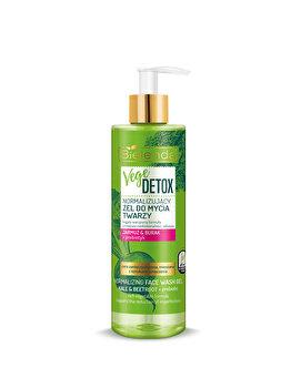 Gel de fata normalizant pentru piele mixta cu Sfecla si Nap + prebiotic Vege Detox, 200 ml de la Bielenda