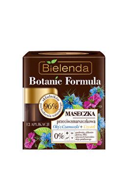 Masca de fata antirid cu ulei de Chimen + Cistus zi/noapte Botanic Formula, 50 ml de la Bielenda
