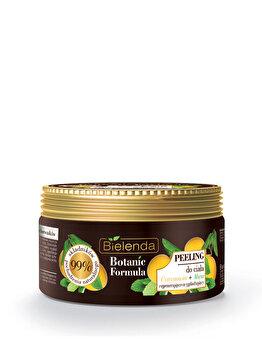 Crema exfolianta corp cu extract de Lamaie + Menta Botanic Formula, 350 g de la Bielenda