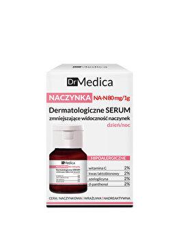 Ser dermatologic de fata anti-roseata zi/noapte Dr Medica Capillary Skin, 30 ml de la Bielenda