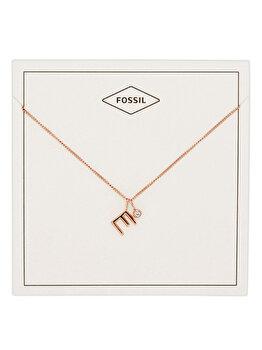 Colier si pandantiv Fossil Motifs JF03038791 de la Fossil