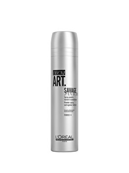 Spray cu pulbere uscata pentru textura L'Oréal ProfessionnelTECNI.ART Savage Panache, 250 ml de la L'Oréal Professionnel
