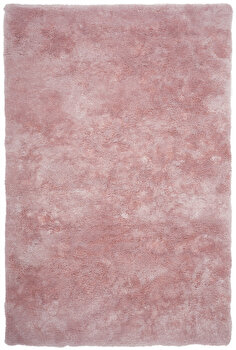 Covor Decorino Shaggy C05-250804, Roz, 60×110 cm de la Decorino