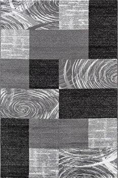 Covor Decorino Patchwork C03-201909, Negru, 120×170 cm de la Decorino
