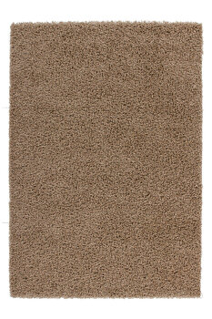 Covor Decorino Shaggy C05-010401, Bej, 60×110 cm de la Decorino