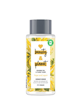 Balsam pentru par deteriorat Love Beauty and Planet Hope and repair Coconut Oil & Ylang Ylang, 400ml de la Love, Beauty and Planet