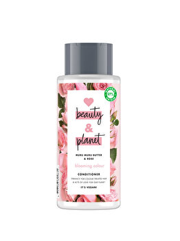 Balsam pentru par vopsit Love Beauty and Planet Blooming colour Muru Muru Butter & Rose, 400ml de la Love, Beauty and Planet