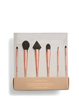 Set de pensule Revoluition Reloaded Rose Gold Brush Set