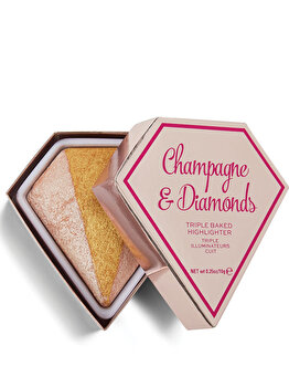 Iluminator I Heart Revolution Diamond Champagne & Diamonds de la Makeup Revolution London