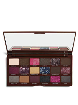 Paleta de farduri de pleoape I Heart Revolution Galactic Chocolate Palette de la Makeup Revolution London