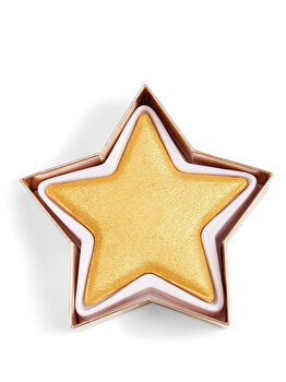 Iluminator I Heart Revolution Star of the Show Highlighter Gold Star de la Makeup Revolution London