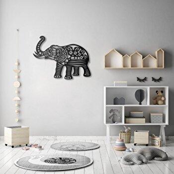 Decoratiune pentru perete, Pirudem, metal 100 procente, 65 x 50 cm, 826PIR2068, Negru de la Pirudem