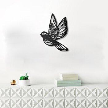 Decoratiune pentru perete, Pirudem, metal 100 procente, 50 x 65 cm, 826PIR2070, Negru