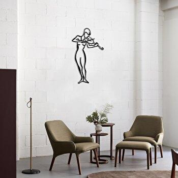 Decoratiune pentru perete, Pirudem, metal 100 procente, 41 x 70 cm, 826PIR2071, Negru de la Pirudem