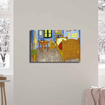 Tablou decorativ, Canvart, Canvas, 45 x 70 cm, lemn 100 procente, 249CVT1381, Multicolor de la Canvart