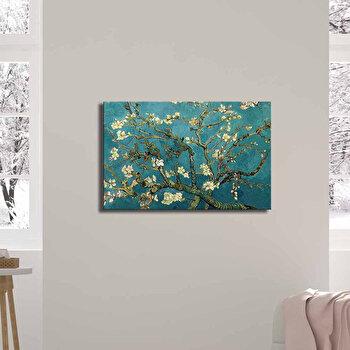 Tablou decorativ, Canvart, Canvas, 45 x 70 cm, lemn 100 procente, 249CVT1383, Multicolor de la Canvart