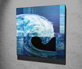 Tablou decorativ, Vega, Canvas 100 procente, lemn 100 procente, 45 x 45 cm, 265VGA1217, Multicolor
