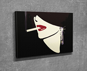 Tablou decorativ, Vega, Canvas 100 procente, lemn 100 procente, 30 x 40 cm, 265VGA1064, Multicolor