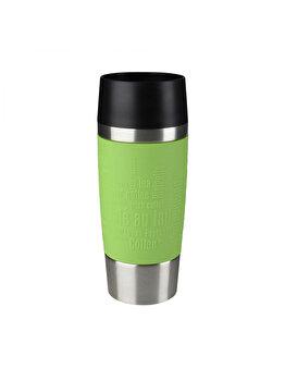 Termos calatorie Tefal, inox, 0.36 L, K3083114, Verde de la Tefal