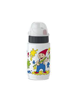 Sticla termos Tefal Drink2Go SS, 0.4 L, K3190112, Multicolor de la Tefal
