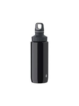 Sticla termos Tefal Drink2Go SS, 0.6 L, plastic, K3194212, Negru de la Tefal