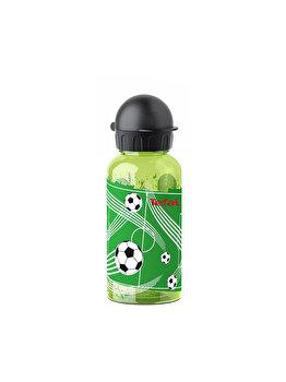 Sticla apa pentru copii TEFAL Tritan Fotbal, 0.4 L, K3170314, Verde