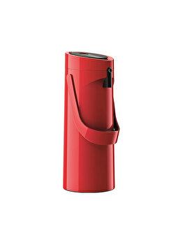 Termos TEFAL Ponza Pump, 1.9 L, plastic, K3140314, Rosu de la Tefal