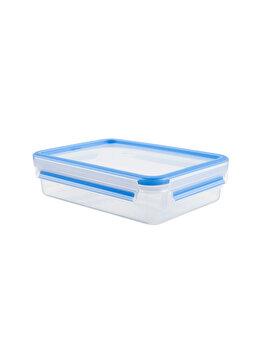 Caserola TEFAL, 0.8L, Clip&Close, plastic, K3021812, Albastru de la Tefal