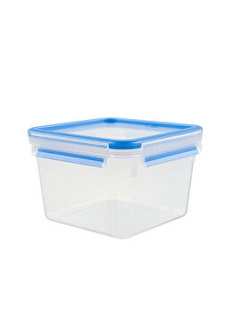 Caserola TEFAL, 1.1 L, Clip&Close, plastic, K3021302, Albastru de la Tefal