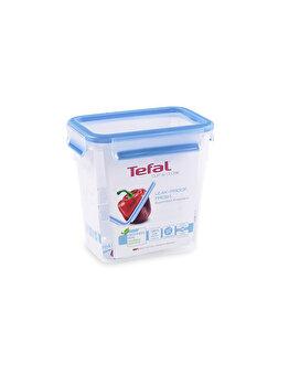 Caserola TEFAL, Clip&Close, plastic, 1.6 L, K3021912, Albastru de la Tefal