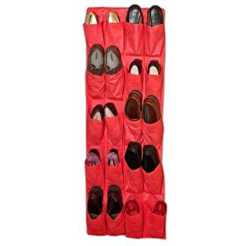 Organizator de pantofi Jocca, 135 cm, 0.20 kg, Rosu de la Jocca