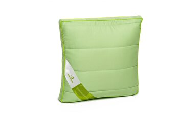 Perna Green Future, 37 x 37 cm, fibra de bambus, Verde de la Green Future
