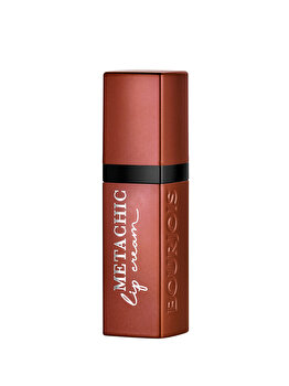 Ruj de buze Metachic Lip Cream, 02 Gold Copper, 6.5 ml de la Bourjois