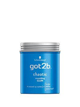 Guma modelatoare pentru par got2b Chaotic fibre gum, cu fixare puternica dar flexibila, 100 ml de la Got2B